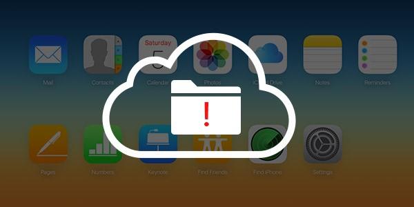 problema con copia de seguridad icloud