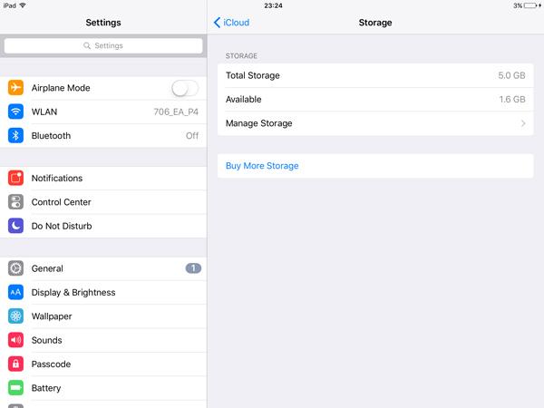 deletar apps no ipad com icloud