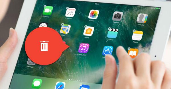 deletar apps no ipad