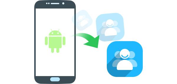 fazer backup dos contatos android