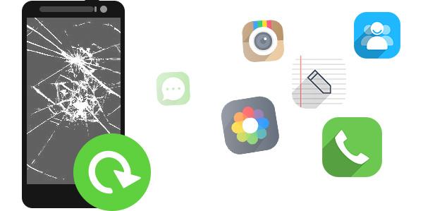 Recuperar dados Android tela quebrada