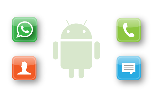 Recupera archivos de texto de Android