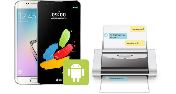 Salvar imprimir mensagens Android