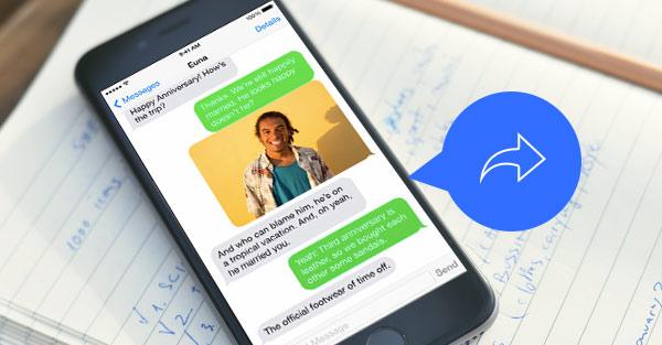 tres maneiras de encaminhar mensagens