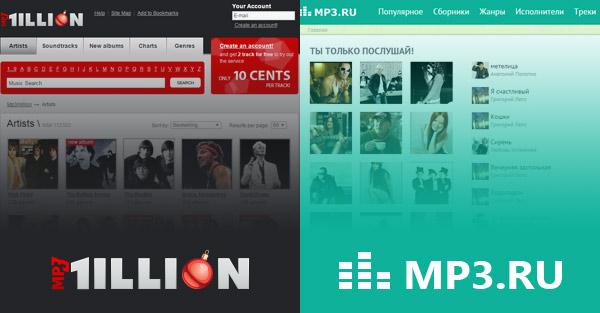 MusicMP3 e MP3Million