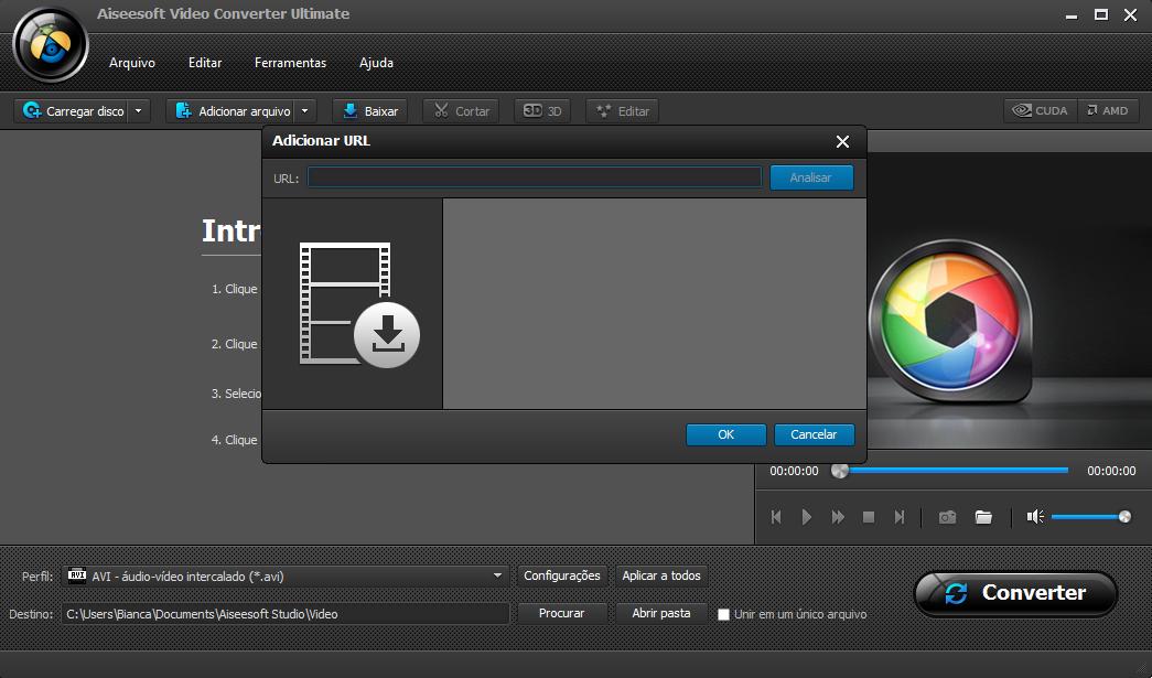 Passo 3 converter vídeo youtube WAV