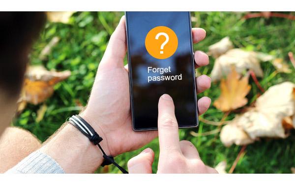 Desbloquear Android esqueceu senha