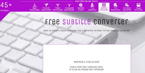 free subtitle converter