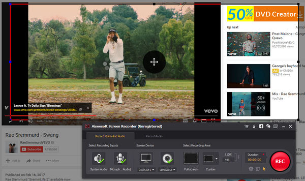 Gravar vídeo YouTube