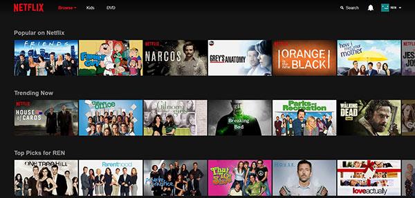 Passo 1 salvar filme Netflix