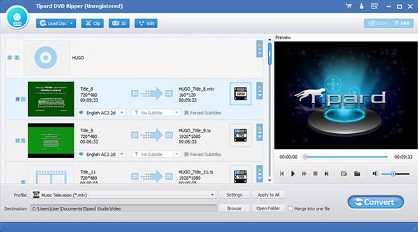 Passo 2 converter vídeo DVD