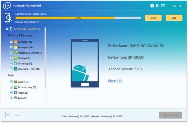 Passo 4 backup Android tela quebrada