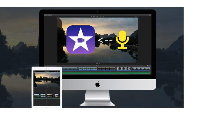 Adicionar audio iMovie