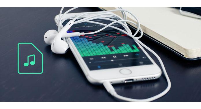 Colocar músicas iPhone
