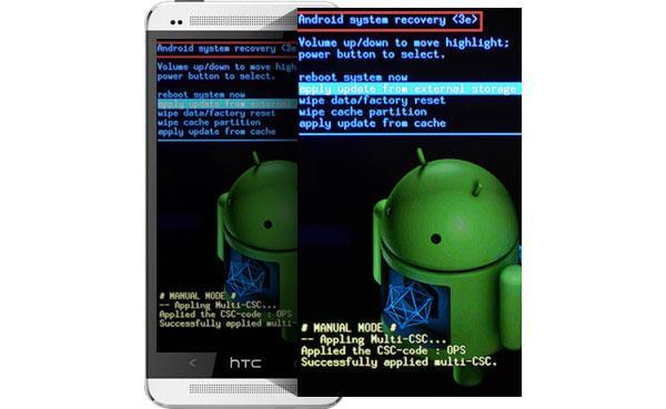 Modo de recuperacion Android