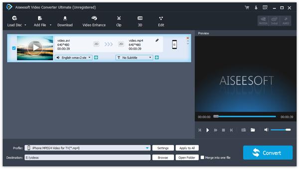 Passo 1 melhorar qualidade vídeo áudio