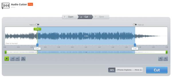 Passo 2 Audio Cutter