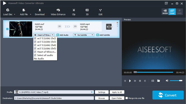 Passo 3 adicionar áudio 3D