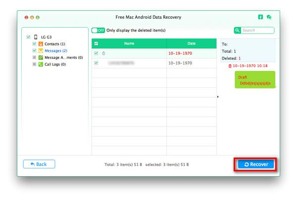 Passo 4 transferir arquivos Android Mac
