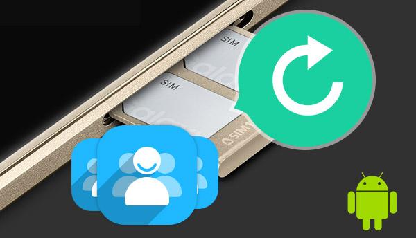 Recuperar contatos cartão SIM Android