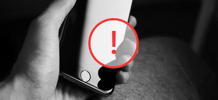 Tela iPhone não funcionando