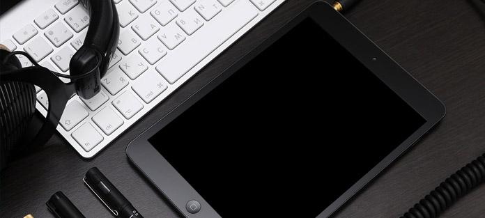 Tela preta iPad