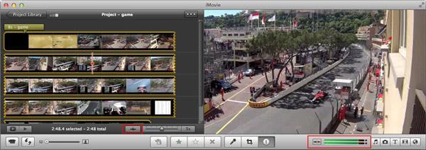 Transiciones de Audio en iMovie