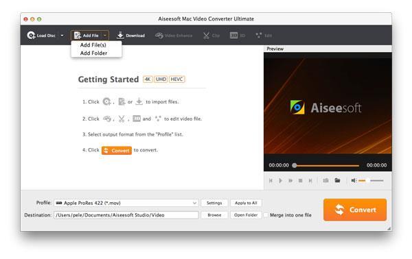 Mejor video conversor para Mac