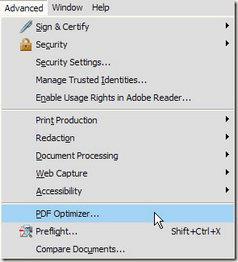Botón de optimizador de impresión