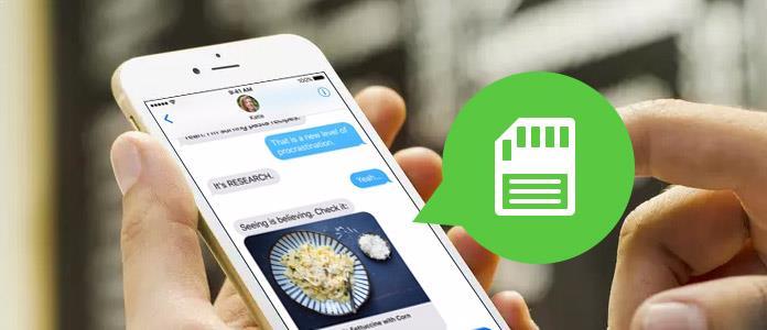 Cómo guardar mensajes de texto en el iPhone