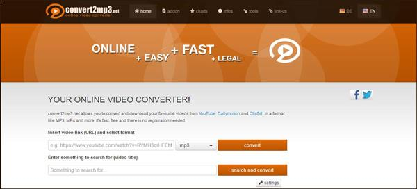 Online YouTube Audio Converter