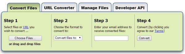 Convertir archivos WLMP en línea