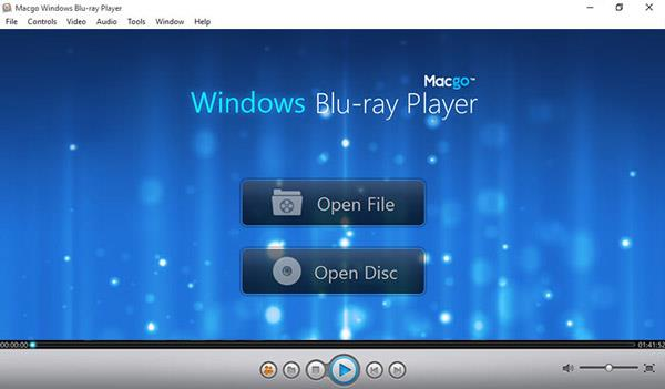 Macgo Windows el Reproductor de Blu-ray