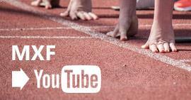 Conversión de MXF a YouTube