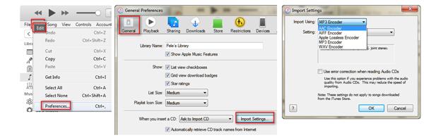 passo 1 como criar versao do audio aac