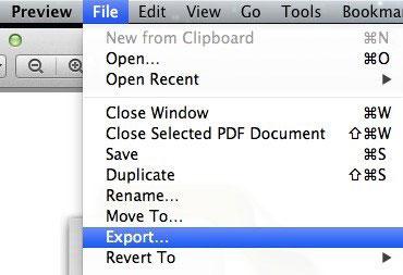 passo 1 otimizar pdf com programa preview
