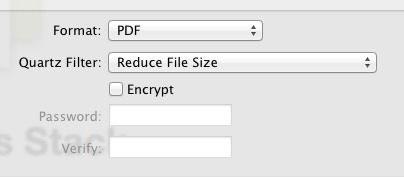 passo 2 otimizar pdf com programa preview