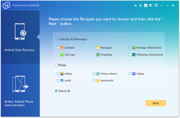 passo 2 recuperar mensagens exluidas do android