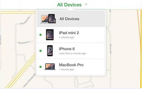 passo3 usar icloud para remover dispositivo ios