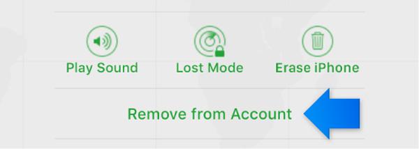 passo4 usar icloud para remover dispositivo ios