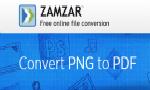 zamzar png to pdf