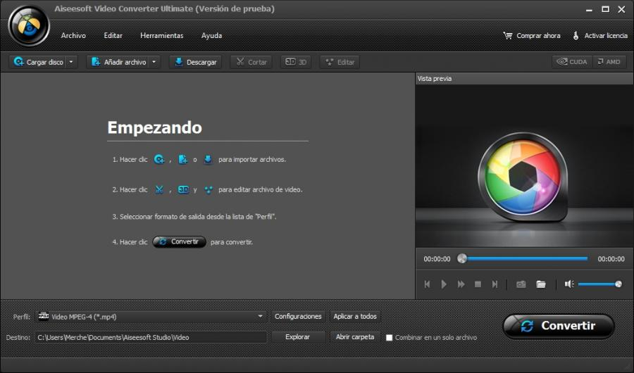 aiseesoft-video-converter-ultimate-español