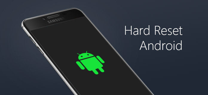 executar hard reset android