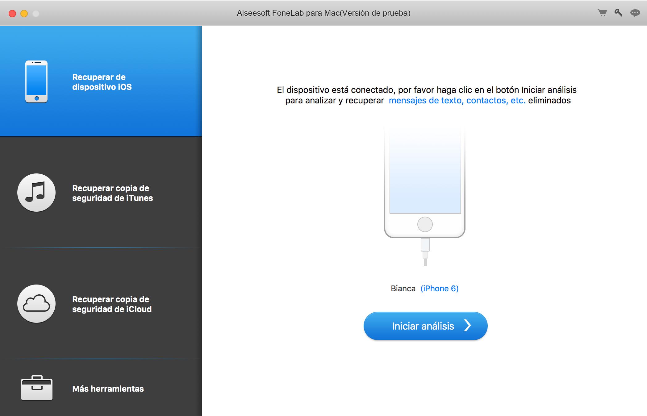 Pantalla de activación de FoneLab System Repair para Mac