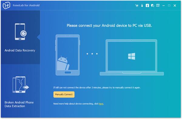 passo 1 restaurar videos excluidos android