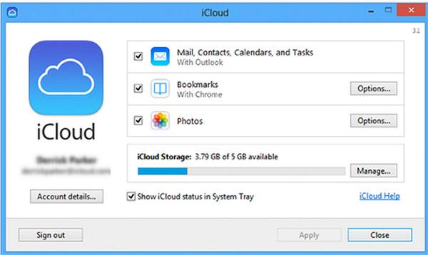 passo 2 como transferir fotos icloud para android