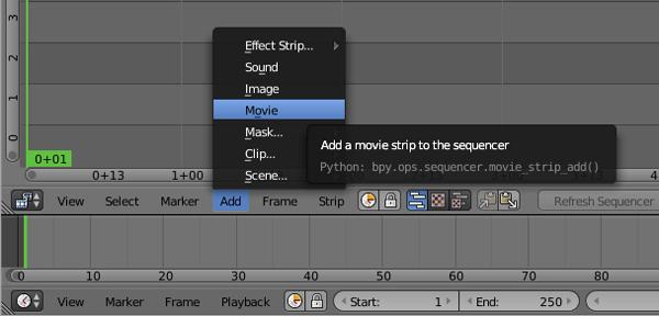 passo 2 edicao de video com blender