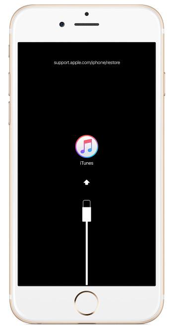 passo 2 redefinir iphone bloqueado com itunes