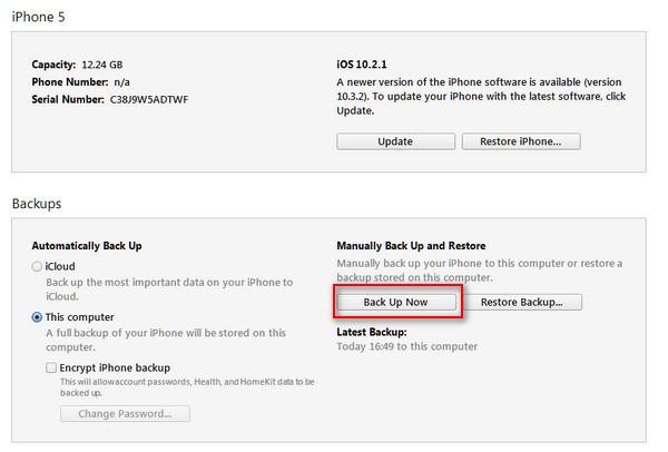 passo 2 redefinir iphone bloqueado