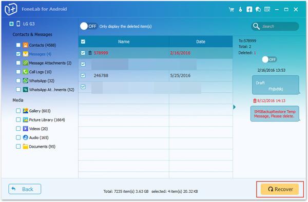 passo 3 backup mensagens com software profissional